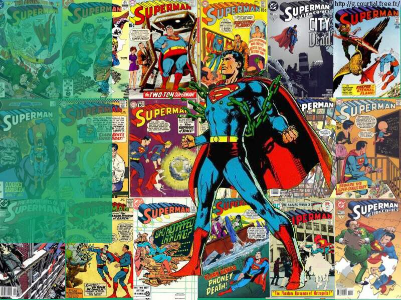 gallery for superman comic book wallpaper